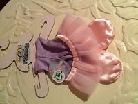 NICI dress your friends tutu and shoes NEW