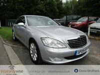 MERCEDES S CLASS S320 CDI, Silver, Auto, Diesel, 2009 1 Owner From New