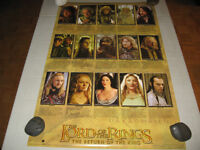Funky 2004 >LORD OF THE RINGS< *THE RETURN OF THE KING* Poster