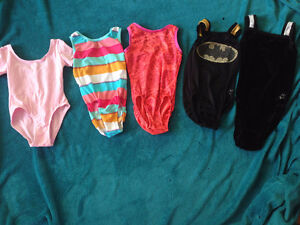 gymnastics/dance leotards and clothing