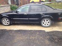 Black 2006 Chevrolet epica