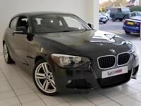 2013 BMW 1 Series 116D M SPORT Diesel black Manual