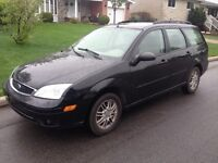 2005 Ford Focus ZXW SES Wagon...145 kms, equippee