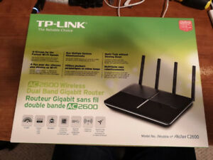 TP-Link AC2600 Dual Band AC Router - Like New