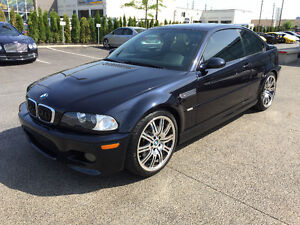 2006 BMW M3 Coupe | Carbon Black on Kiwi | 6MT | Accident free