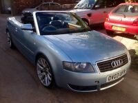 2003 Audi A4 1.8t convertible - long & new clutch ( may swap/px ?