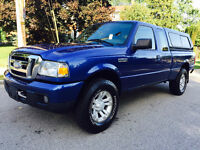 2007 Ford Ranger, 4X4,  STICK SHIFT, Extended Cab, 4 NEW TIRES