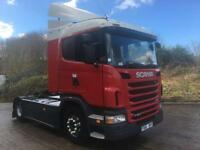 2011 61 Scania G420 Euro 5 4x2 sleeper cab unit