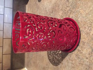 Red Party Lite Candle Holder