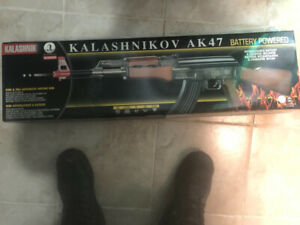 Semi and full auto plastic BB AK-47