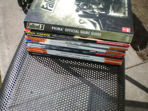 11 Game Guides PC Xbox 360 PlayStation 3 $30.00 for all