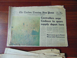 Time Magazines and News Paper on waik on the Moon London Ontario image 6