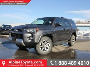 2018 Toyota 4Runner TRD Off Road  Crawl Ctrl - 4x4 - Nav - Sunro