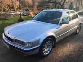 ICONIC FINAL EDITION BMW 7 SERIES FACELIFT CAR 2001 728I ONLY 69,000MILES