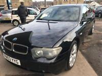 BMW 730 3.0TD auto d Sport 4 DOOR - 2003 53-REG - 5 MONTHS MOT