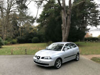 2005 Seat Ibiza 1.9 TDI FR 150 5 Door Hatchback Silver