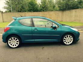 2006 56 PEUGEOT 207 GT 1.6 HDI ( 110 ) 3 DOOR HATCHBACK WITH PANORAMIC ROOF
