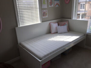 IKEA kid bed with mattress in excellent shape