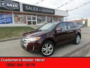 2011 Ford Edge Limited   LEATHER!  PANOROOF!   NAVI,!  POWER GAT