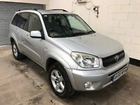 2005 Toyota Rav4 2.0 VVTI X TR * Low Mileage * 2 Owners Sun roof, Air Con, Alloys 3 Month Warranty
