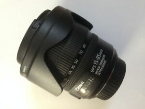 Canon EFS 15-85mm - like  new