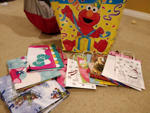 Gift bags -- free