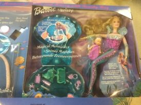 MAGICAL MERMAID BARBIE& Krissy dolls