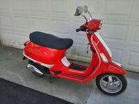 2008 Vespa s150 scooter