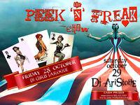 Peek N Freak Show Halloween Weekend Event