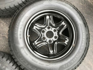 2013.GMC Acadia Rims,Winter Tires +TPMS For Sale