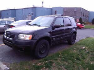 2001 Ford Escape VUS tel quel