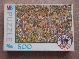 WHERE'S WALLY? jigsaw puzzle 500 pieces complete and boxed - OFFERS INVITED