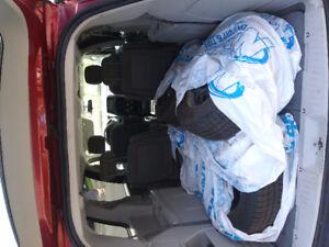 2009 Dodge Caravan red Minivan, Van