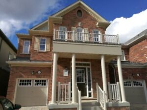 Brand new house for rent in Brampton (Mayfield/Mississauga)