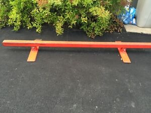 Grind rail for skateboards or scooters