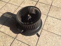 Skoda Octavia Vrs mk2 heater Blower motor climate control digital denso 3c0907521b