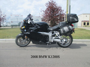 2008 BMW K1200S - ONLY 27,000 KM, PRICE REDUCED BY $2000!!