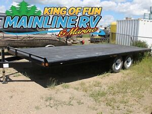 2016 Rainbow Trailers Tandem Deck Above Bumper Express 0520E
