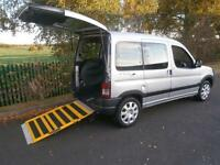 2010 Peugeot Partner Combi 1.6 HDi Escapade 5dr WHEELCHAIR ACCESSIBLE VEHICLE...