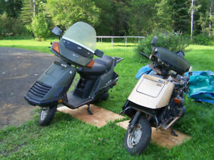 1984 Honda Elite CH125 (working) plus two extra!