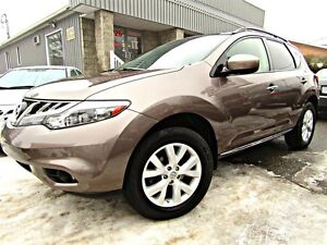 Nissan Murano AWD 4dr SL CUIR TOIT ** NOUVEL ARRIVAGE **  2012