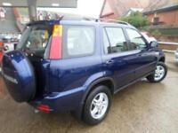Honda CR-V 2.0 ES 5dr PETROL MANUAL 2001/Y