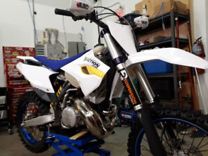 2013 Husaberg te 250 with Y plate for sale