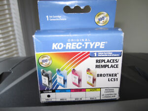 Ko Rec Type Black Inkjet Cartridge + more-$5 lot