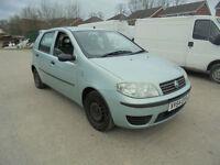 Fiat Punto 1.2 8v Active 5 DOOR - 2004 54-REG - 5 MONTHS MOT
