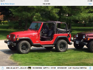 2002 Jeep TJ SUV, Crossover / Testing The Waters