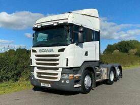 Scania R-SRS R480 6 X 2 High Line Rear Lift Tractor Unit