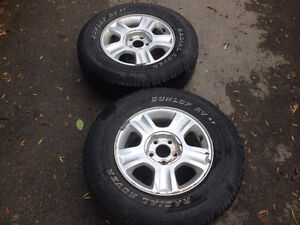 M+S P235/70 R16 Ford escape tires and rims