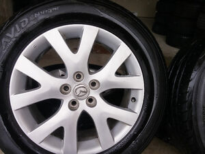 Mazda CX ,7,9, Mags and Tire 235-60-R18, Bolt pattern 5X114.3