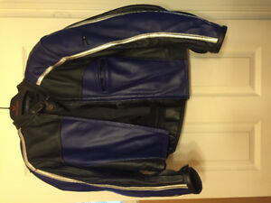 Women's Motorcycle helmet, gloves and joe rocket leather jacket